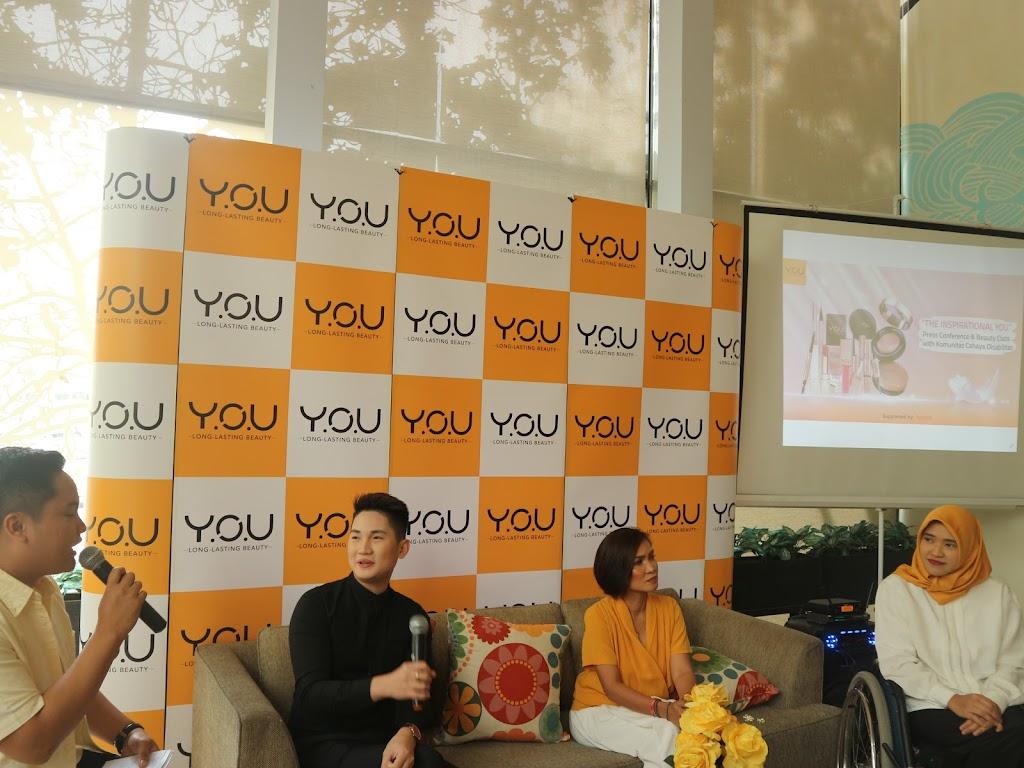 Merayakan Hari Difabel Internasional Bersama Y.O.U Makeups dan Komunitas Cahaya Disabilitas